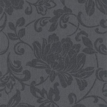 Graham & Brown Jacquard Charcoal Wallpaper