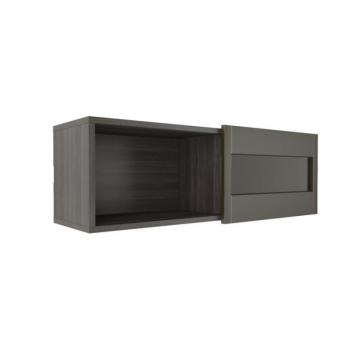 Nexera Nuance Wall Shelf with Sliding Door