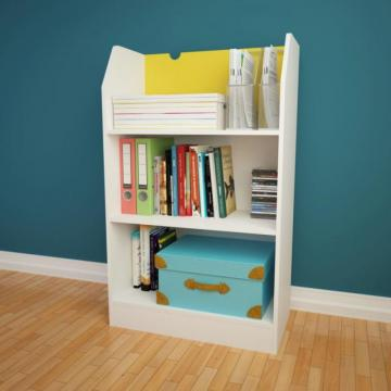 Nexera Taxi 3-Shelf Bookcase
