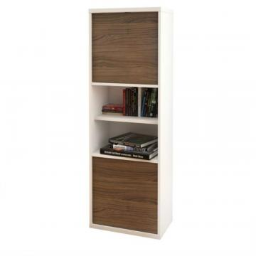Nexera Liber-T 2-Door Bookcase