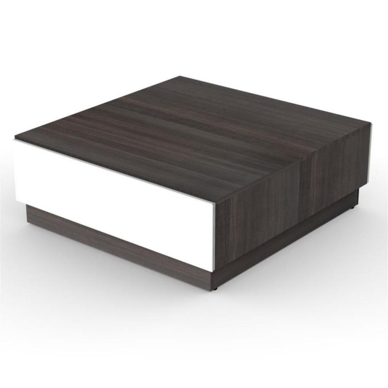 Nexera Allure Coffee table with Enclosed Storage