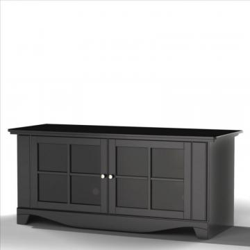 "Nexera Pinnacle 56"" TV Stand from  Nexera - Black"