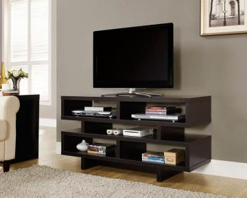 "Monarch Cappuccino Hollow-Core 48""L Tv Console"