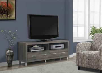 "Monarch Dark Taupe Reclaimed-Look 60""L Tv Console With 4 Drawers"