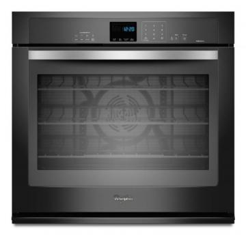 Whirlpool Gold 5.0 cu. ft. SingleWall Oven with Steam Clean Option in Stainless Steel