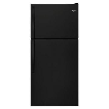 Whirlpool 18.3 cu. ft. Top Freezer Refrigerator in Black