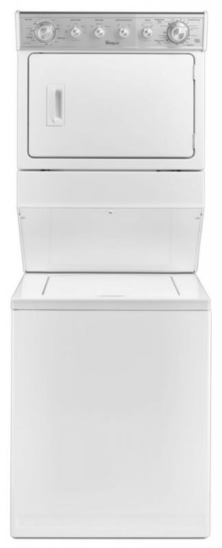 Whirlpool 8.4 cu. ft. Gas Combination Washer - Dryer in White