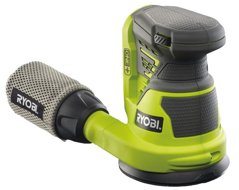 Ryobi ONE+ 125mm 18V Li-Ion Cordless Random Orbital Sander (Bare Unit only)