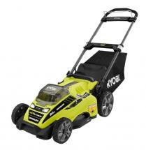 Ryobi 20 in. 40-Volt Brushless Lithium-Ion Cordless Push Mower with 5.0 Ah Battery