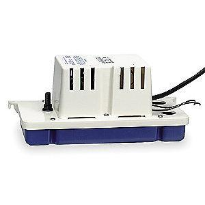 Little 120V Low Profile 1/30 HP Condensate Pump, 1.5 Amps, 8.6 psi
