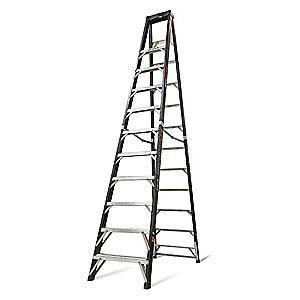 Little 12 ft. 375 lb. Load Capacity Fiberglass Stepladder