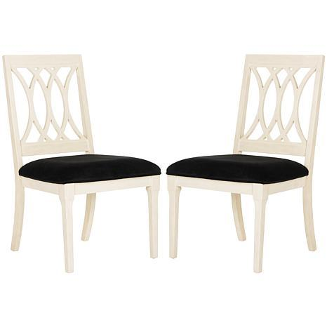Safavieh Selena Velvet Side Chair - Set of 2