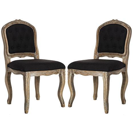 Safavieh Eloise French Leg Dining Chair - Set of 2