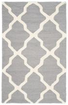 Safavieh Cambridge Silver / Ivory 3 Feet. X 5 Feet. Area Rug