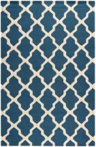 Safavieh Cambridge Navy Blue / Ivory 8 Feet. X 10 Feet. Area Rug