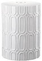 Safavieh Melody Patio Stool in Antique White