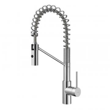 Kraus MateoSingle Lever Commercial Style Kitchen Faucet Chrome