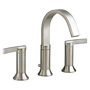 American Standard Cast Brass Berwick Widespread Bathroom Faucet, Lever Handle Type
