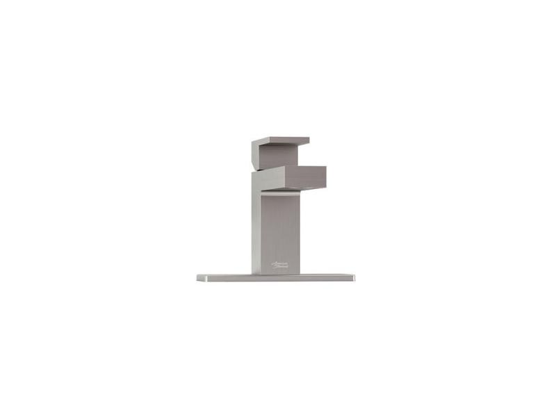 American Standard Profilo Monoblock Bathroom Faucet in Satin Nickel Finish