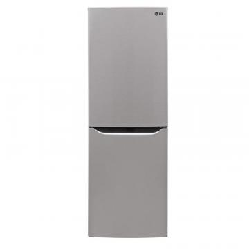 LG 10.2 cu. ft. Refrigerator with Bottom Freezer and Swing Door in Platinum Silver