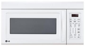 LG 1.8 cu. ft. Over-the-Range Microwave with EasyClean Interior in White