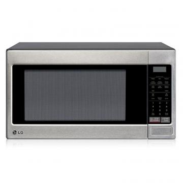 LG 2.0 cu. ft. Countertop Microwave Oven with Optional Built-In Trim Kit in Stainless Steel