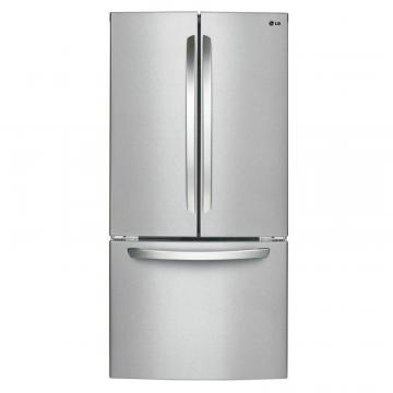 LG 24 cu. ft. French Door Refrigerator in Stainless Steel