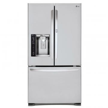 LG 24 cu. ft. Door-in-Door French Door Refrigerator with Slim SpacePlus Ice System
