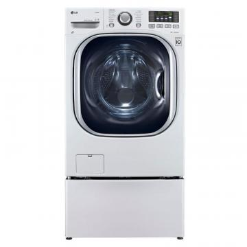 LG 5.0 cu. ft. Front Load All-In-One Electric Washer-Dryer Combo in White