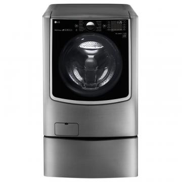 LG 6.0 cu.ft. Turbowash Washer With Steam Technology in Stainless Look