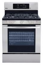 LG 5.4 cu. ft. Gas Range with Convection with IntuiTouch Control System in Stainless Steel