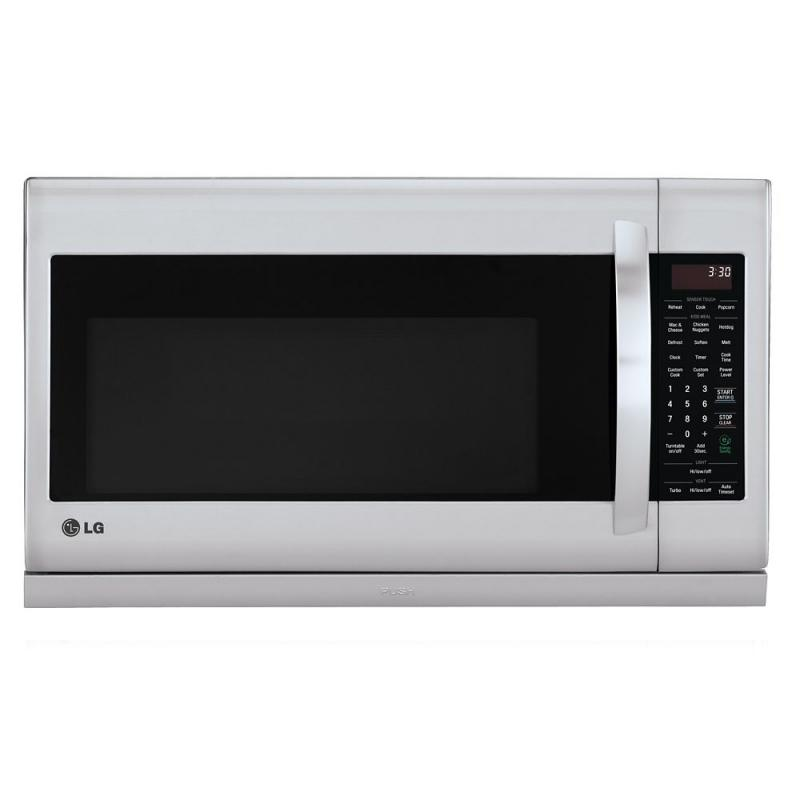 LG 2.0 cu. ft. Over-the-Range Microwave with Slide-out ExtendaVent in Stainless Steel
