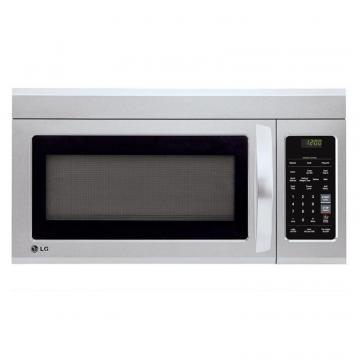 LG 1.8 cu. ft. Over-the-Range Microwave with EasyClean Interior in Stainless Steel
