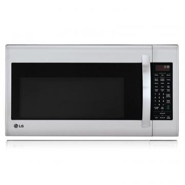 LG 2.0 cu. ft. Over-the-Range Microwave with EasyClean Interior in Stainless Steel