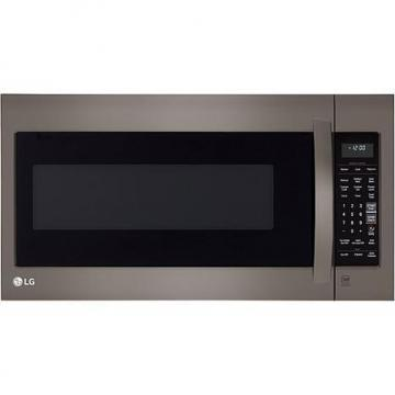 LG 1000-Watt 2 Cu. Ft. Over-the-Range Microwave  - Black Stainless Steel