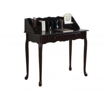 Monarch Desk - 36 Inch L / Dark Cherry Traditional