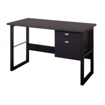 Corliving Folio Black Espresso Filing Drawer Desk