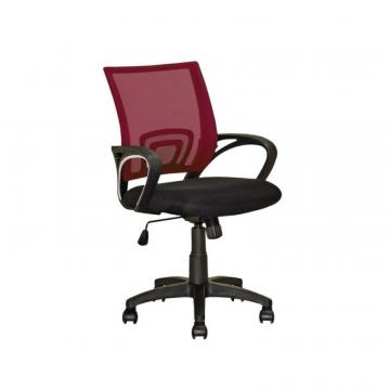 Corliving Workspace Maroon Mesh Back Office Chair