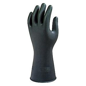 Ansell Gloves, Unlined Lining, Black