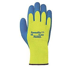 Ansell Natural Rubber Latex Cut Resistant Gloves, ANSI/ISEA Cut Level 3, Acrylic Terry Lining