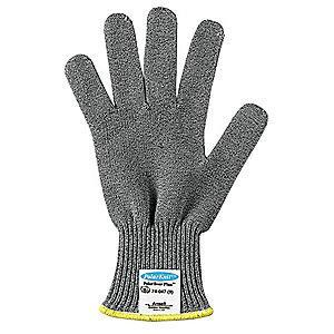 Ansell Uncoated Cut Resistant Glove, ANSI/ISEA Cut Level 4, Dyneema Lining, Gray, 10
