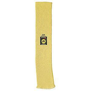 Ansell Cut Resistant Sleeve,18 in.,Yellow