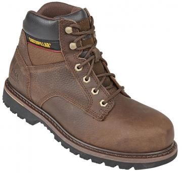 Caterpillar Tracker Safety Boots, Brown Size 8