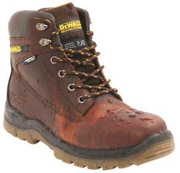 DeWalt S3 Safety Boots, Tan Size 6