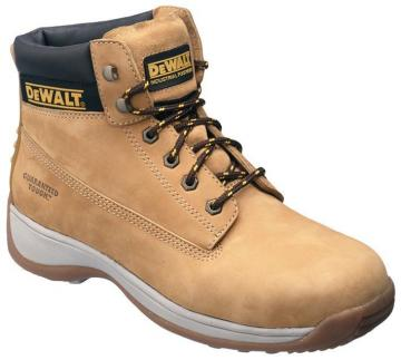 DeWalt Safety Boots, Honey Size 6
