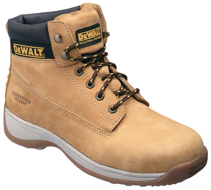 DeWalt Safety Boots, Honey Size 12