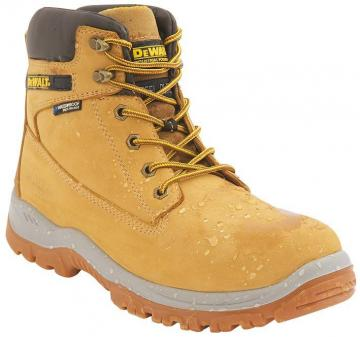 DeWalt S3 Safety Boots, Wheat Size 6