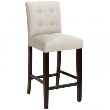 Skyline Bar Stool In Linen Talc
