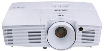 Acer X135WH WXGA Home & Office Projector, DLP 3D Ready 3400LM