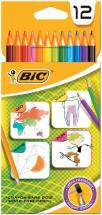 BIC HB Colouring Pencils - Pack of 12